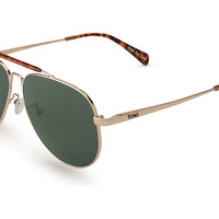 TOMS Maverick 301 Yellow Gold Polarized No color specified OS