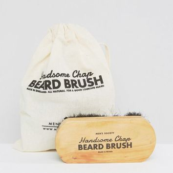 Men's Society Beard Brush at asos.com