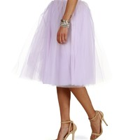 Sale- Lavender Tulle Darling Party Skirt