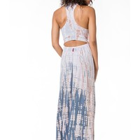 Hard Tail Drop Back Maxi Dress