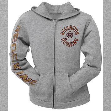 Washington Redskins - Sunday Juniors Zip Hoodie