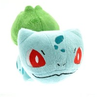 Just Model Pokemon Bulbasaur 6'' Soft Plush Stuffed Doll Toy Free, Blue
