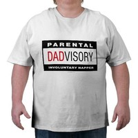 "Dadvisory ""Napper"" for Light Apparel Shirt from Zazzle.com"