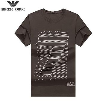 Boys & Men Armani Casual Fashion Shirt Top Tee