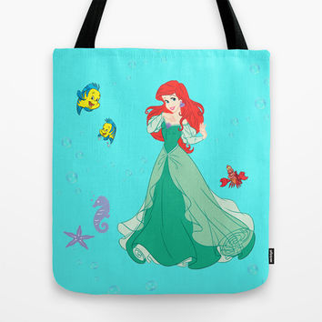 Ariel Tote Bag by KidsLand | Society6