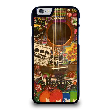 THE BEATLES GUITAR COLLAGE iPhone 6 / 6S Case