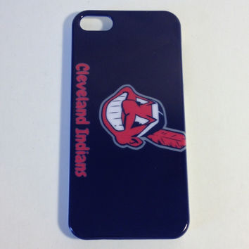 Cleveland Indians hard back phone cover for the Iphone 5 5s