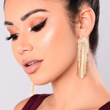 Never A Dull Moment Earrings - Gold