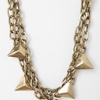 Dyers Knotted Necklace