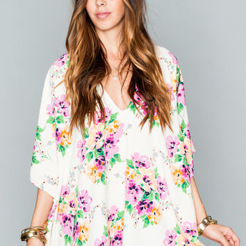Show Me Your Mumu ~ Peta Tunic ~ Pansy Party