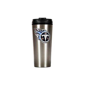 Tennessee Titans Primary Logo 16 oz Stainless Steel Travel Mug Tumbler Cup