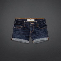 Hollister Low-Rise Midi Length Shorts