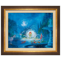 Disney A Dream Is a Wish Your Heart Makes Cinderella Limited Edition Giclée | Disney Store