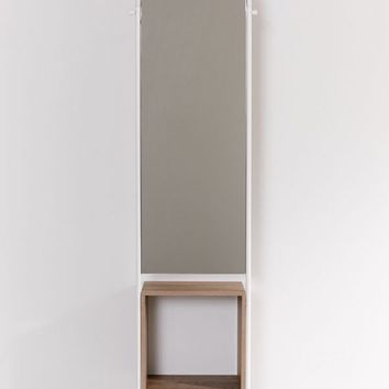 Rooney Entryway Storage Mirror | Urban Outfitters
