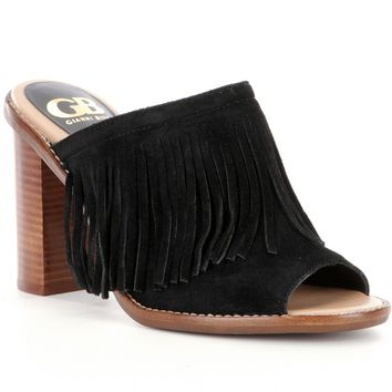 GB Road-Tripz Fringe Mules | Dillards