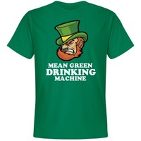 Mean Green Beer Drinking Machine for St Patricks Day pub crawls!