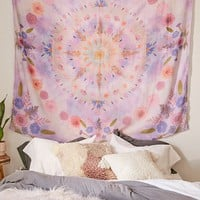Pressed Floral Tapestry | Urban Outfitters