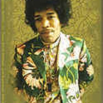 Jimi Hendrix Vinyl Sticker Jacket Photo