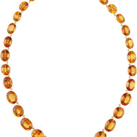 Fred Leighton - Collection 18-karat gold citrine necklace