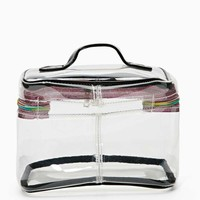 Nasty Gal Prismatic Vision Makeup Bag
