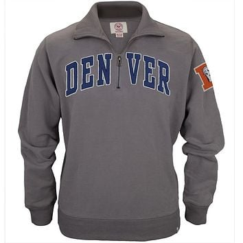 Denver Broncos - Striker 1/4 Zip Premium Sweatshirt