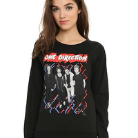 One Direction Zigzag Girls Pullover Top