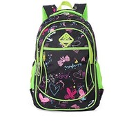 Vere Gloria Girls Printing School Backpacks Bags for Primary School Students 1-3 Graders