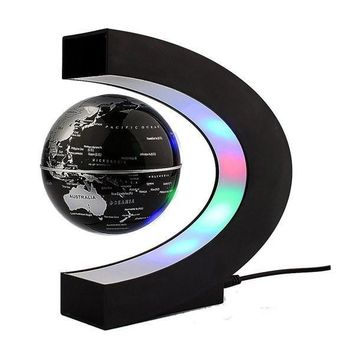 Floating LED Globe