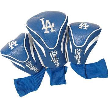 Los Angeles Dodgers 3 Pack Golf Contour Sock Headcovers