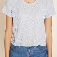 Bead-Embroidered Top | Forever 21 - 2000186497