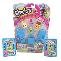 Shopkins 5 Pack with 2 Shopkins Blind Basket Bundle - Styles Will Vary