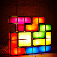 Tetris Lamp UK Plug - Urban Outfitters