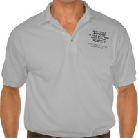 Right Mind Trumpet Polo T-shirts