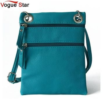 Vogue Star 2017 women leather messenger bag summer sling satchels crossbody shoulder bag tassel vintage mini small purses LS395