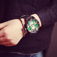Graffiti Hip-hop Style Watches Gift - 504