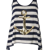 Sequins Anchor at Alloy
