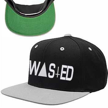 wasted snapback hat