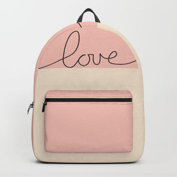 Love en Rose Backpacks by mirimo