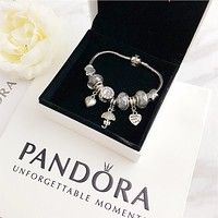 Cute PANDORA Bracelet Charm Beaded Bracelet Jewelry