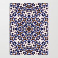 Abstract Mandala Pattern Poster by tmarchev
