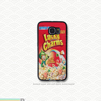 Lucky Charms and other Retro Cereal Boxes, Custom Phone Case for Galaxy S4, S5, S6