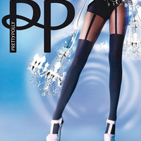 Pretty Polly - Suspender Tights