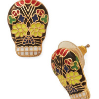 Boho Give Me a Calavera Earrings by ModCloth