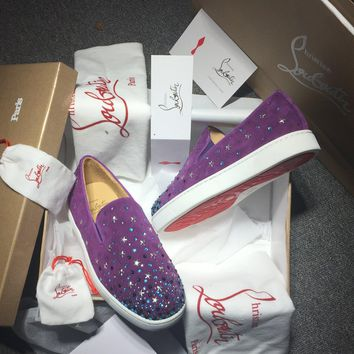 Cl Christian Louboutin Flat Style #732
