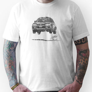 Machina Attire - 'Colin McRae 555' Subaru Impreza Tribute T-Shirt (Bla