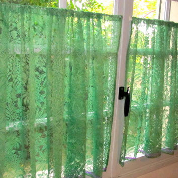 Lace Cafe Curtains Kitchen Best Ideas