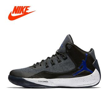Original New Arrival Official AIR Jordan RISING HIGH AJ Nike Men's Breathable Basketball Shoes Sports Sneakers