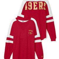 San Francisco 49ers Pocket Varsity Crew - PINK - Victoria's Secret
