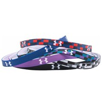 Under Armour Women's UA Graphic Mini Headbands 6-Pack