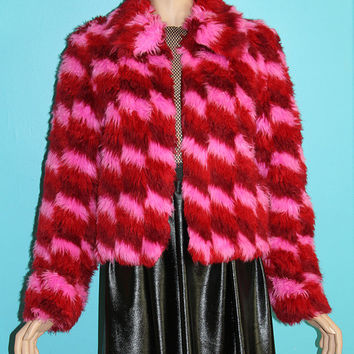 Shaggy Faux Fur Clubkid Jacket